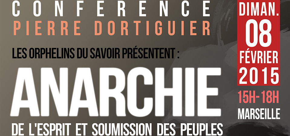 Conférence de P. Dortiguier à Marseille ce 8 février