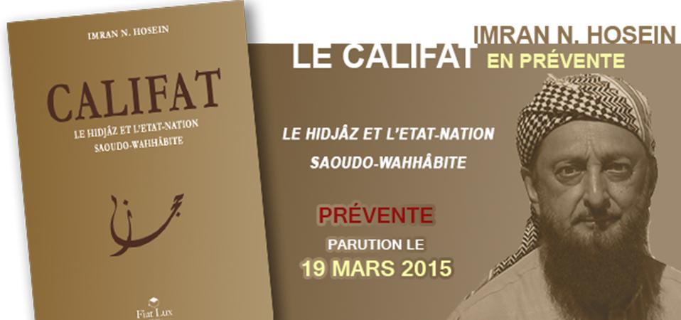 «Califat» de Cheikh Imran N. Hosein en prévente